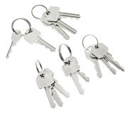 Bunches of Keys Stock Image