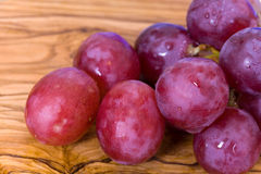 Bunches of purple ripe grape Royalty Free Stock Photo