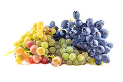 Bunches of ripe grapes Royalty Free Stock Image