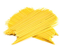 Bunches of spaghetti Royalty Free Stock Image