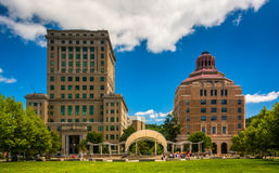 Buncombe County Courthouse and Asheville City Hall, in Asheville Royalty Free Stock Photography