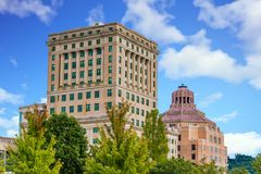 Buncombe County Courthouses Stock Photography