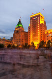The Bund Night View Royalty Free Stock Images