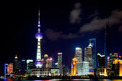 The Bund. Photo in The Bund of Nanjing Road Royalty Free Stock Photography