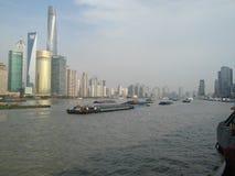 bund shanghai стоковое фото