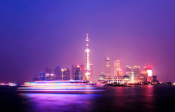 The Bund in Shanghai Royalty Free Stock Photography