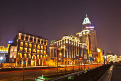 The bund of Shanghai Stock Photography