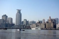 Bund Shanghai Obrazy Royalty Free