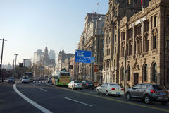 Bund Shanghai Fotografia Royalty Free