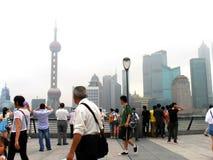 Bund Shanghai Royaltyfri Bild