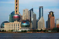 Bund of Shanghai Stock Image