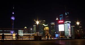 bund shanghai Arkivbilder