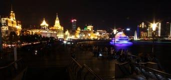 bund shanghai Royaltyfria Bilder