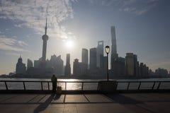 Bund Shanghai Fotografering för Bildbyråer