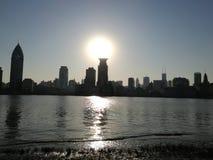 bund shanghai Стоковая Фотография
