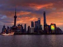 bund shanghai Стоковое Изображение