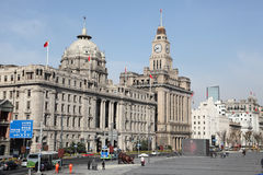 The Bund in Shanghai, China Royalty Free Stock Photos