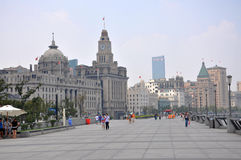 The Bund, Shanghai, China Royalty Free Stock Image