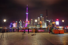 The Bund in Shanghai Stock Photo