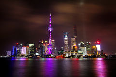 The Bund in Shanghai. China Royalty Free Stock Photos