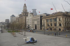 The Bund in Shanghai, China Royalty Free Stock Image