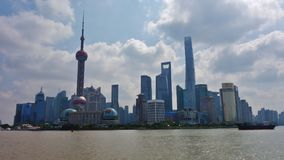 `The Bund` in Shanghai, China Royalty Free Stock Images