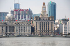 The Bund Shanghai China Royalty Free Stock Photo