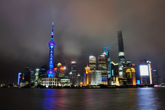The Bund at Shanghai China Royalty Free Stock Image