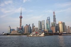 The Bund, Shanghai China Stock Photography