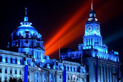 The Bund in Shanghai Stock Photos