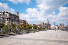 The bund in shanghai Royalty Free Stock Images