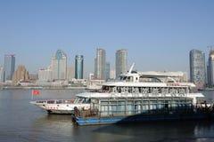 Bund Shanghai Zdjęcia Royalty Free
