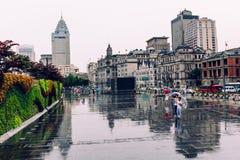 Bund Shanghai, porcelana Fotografia Stock