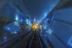 bund Shanghai turysty tunel Fotografia Royalty Free