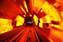 bund Shanghai turysty tunel Fotografia Stock