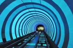 bund Shanghai turysty tunel Zdjęcie Royalty Free