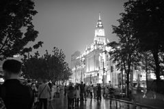 The Bund in Shnghai China Royalty Free Stock Images