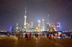 The Bund. Shot taken in 2013-in Shanghai, China Royalty Free Stock Images