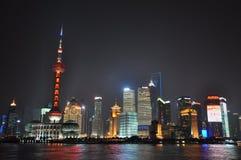 The Bund (Wai Tan). In Shanghai, China Stock Photography