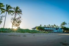 Bundaberg beach and surf school in Queensland, Australia royalty free stock image