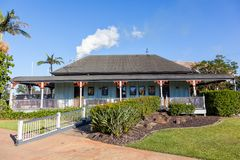 Bundaberg Rum Distillery - old visitors` center Royalty Free Stock Photo