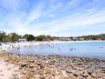 Bundeena beach @ Royal National Park, Sydney. NSW Australia stock photography