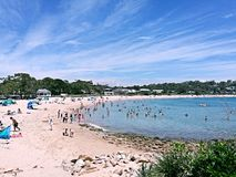 Bundeena beach @ Royal National Park, Sydney. NSW Australia royalty free stock photo