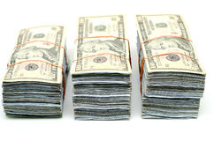 bundel 3 van bankbiljet Stock Afbeeldingen