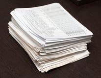 Bundel van documenten Royalty-vrije Stock Fotografie