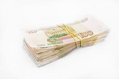 Bundel van geld Stock Foto