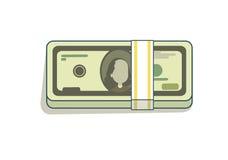 Bundel van geld Royalty-vrije Stock Foto