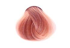Bundel van haarkleur Stock Foto's