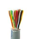Bundel van kleurenkabels Royalty-vrije Stock Foto's