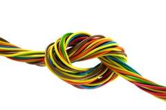 Bundel van kleurenkabels Stock Afbeelding